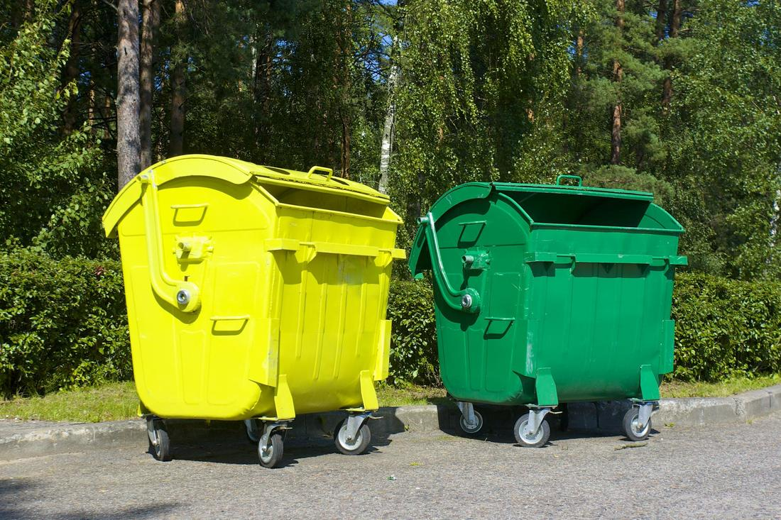 Two dumpsters that are prime for junk removal